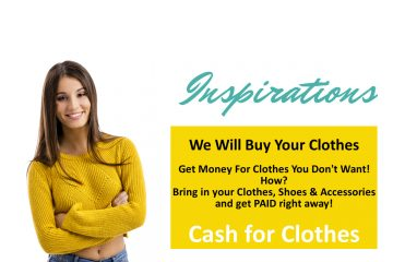 We will buy your clothes