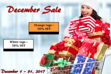 December 2017 Sale