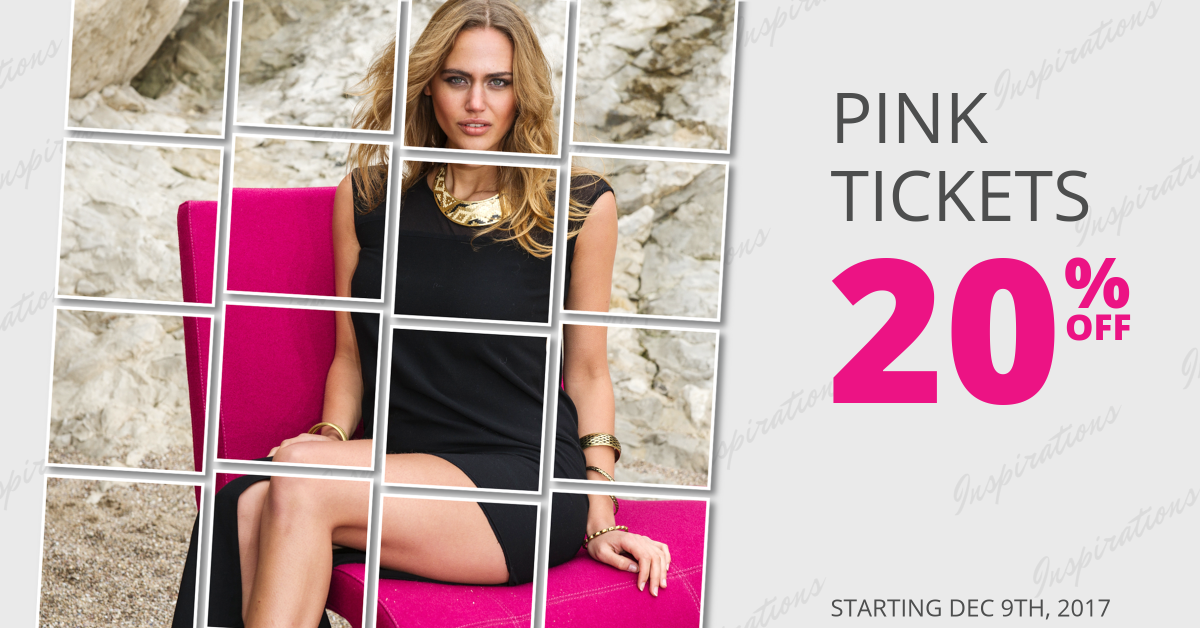 Pink Tickets Promo