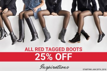 Red Tagged Shoes 25% OFF